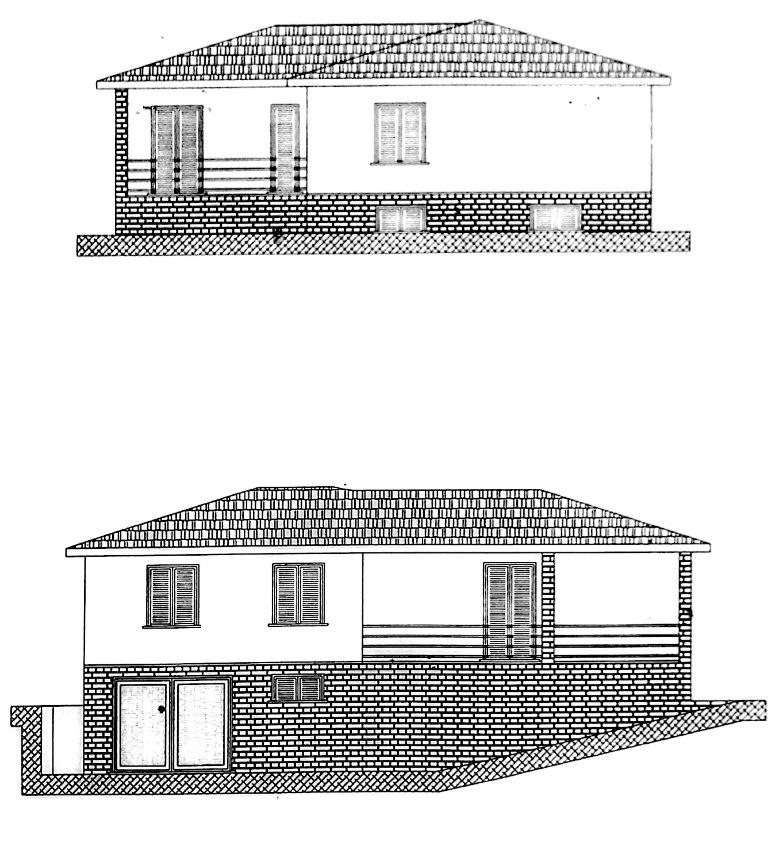 Alghero Loc. Mamuntanas a 5 km da Alghero progetto approvato per villino su due livelli per complessivi mq 150 circa. Terreno mq 10.000 recintato e piantumato